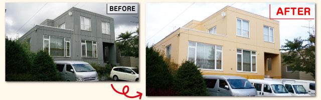 屋根の塗装工事イメージ画像2